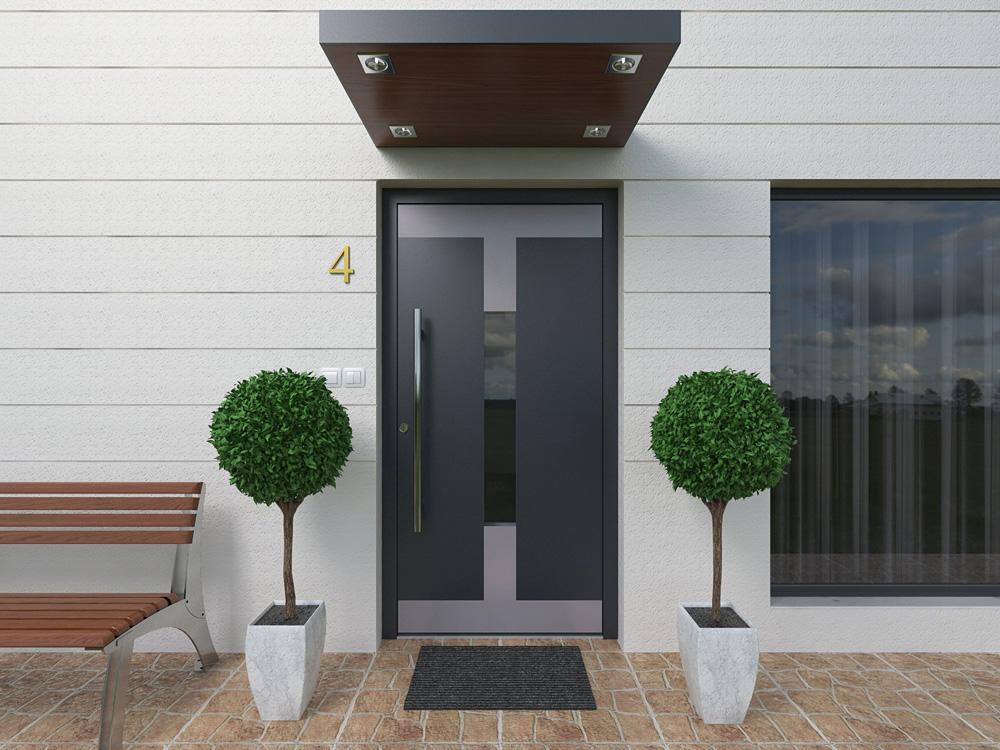 aluminiowe drzwi zewnętrzne